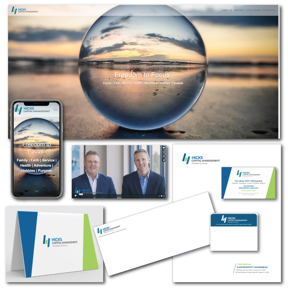 Hicks Capital Website and Collateral image